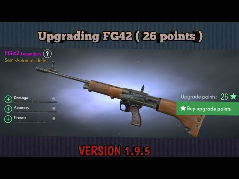 Fg42 -  26 Upgrade Points ☆ World War Heroes