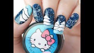 видео Маникюр со снегирями на ногтях: пошаговое рисование и фото дизайнов