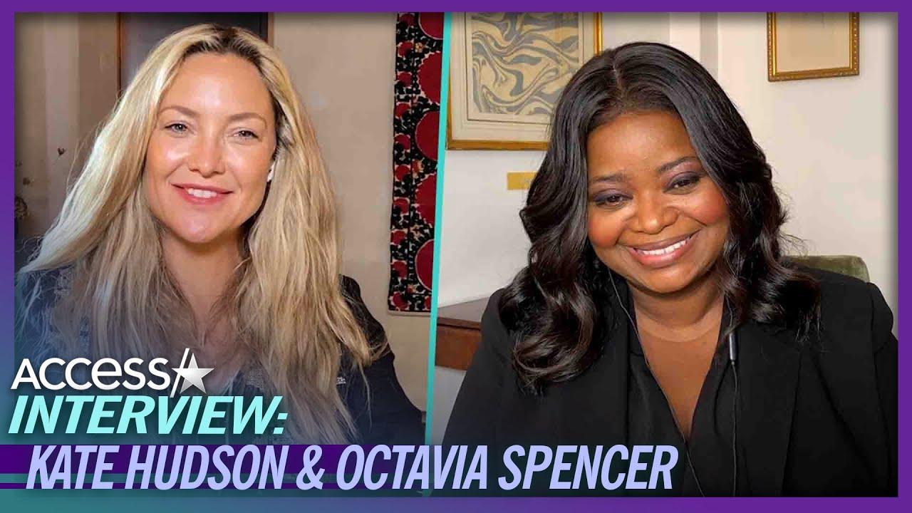 What Kate Hudson & Octavia Spencer Bonded Over