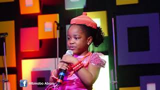 A MUST WATCH!!! 4years old Ibinabo Abam- Names Of God in different Nigerian languages
