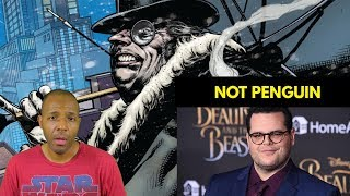 Josh Gad Says He's Not Penguin in the DCEU Batman Movie