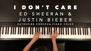 Baixar Ed Sheeran & Justin Bieber - I Don't Care (HQ piano cover)