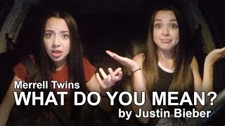 What Do You Mean? - Justin Bieber - Merrell Twins