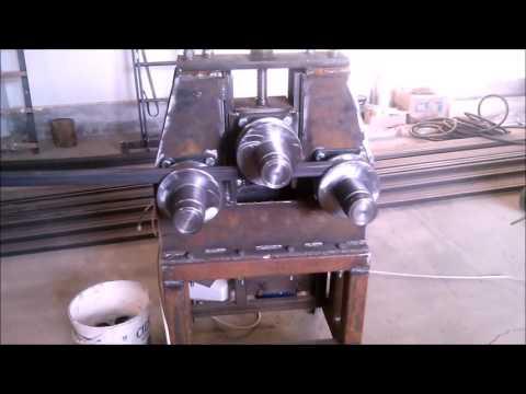Homemade bending machine