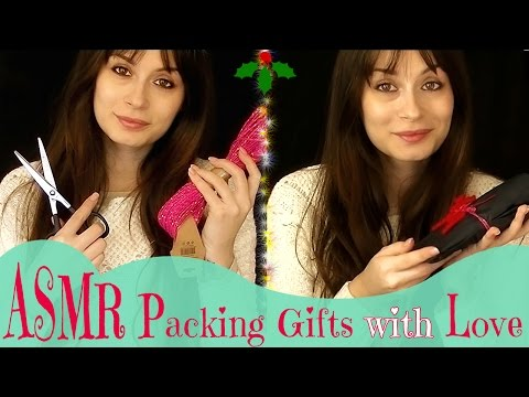 ASMR 🎅 Impacchettiamo i Regali di Natale! 🎁 Gentle Whispers + Stationery Sounds ✂