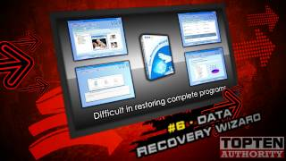 TOP TEN Disk Recovery Software - SHORT VERSION - Best Review 2012