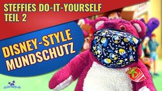 Disney Mundschutz nähen Do-it-yourself Tutorial: Nähanleitung Schritt für Schritt | DIY mit Steffie