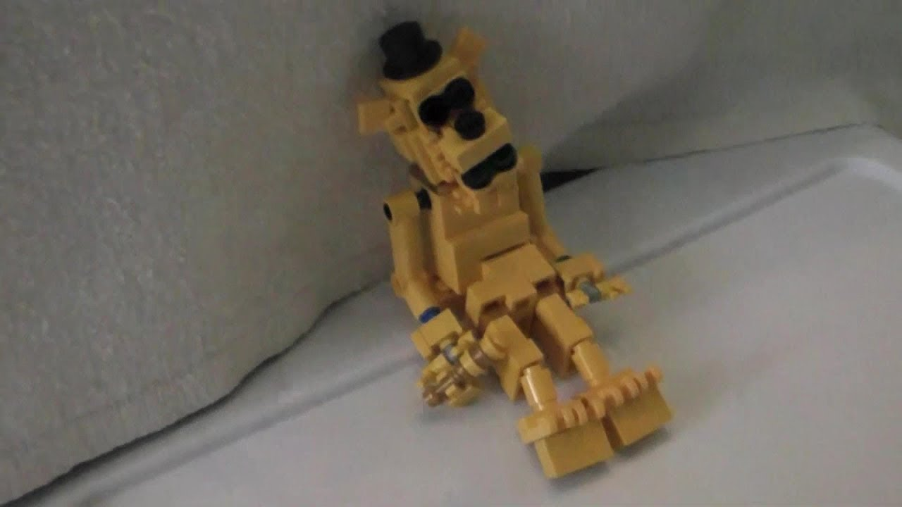 Lego golden freddy five nights at freddys nnn freddy fazbear