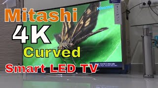 Mitashi 4K Smart Curved LED TV Review in Hindi - 55 inch priced at Rs 79 990