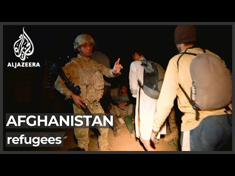 Afghan refugees struggling to reach Turkey through Iran