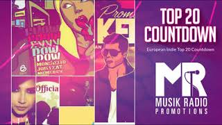 Euro Indie Music Chart Top 20 Countdown Show S3E18