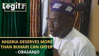 Obasanjo bombs Buhari again, says FG is empowering Boko Haram   Legit TV