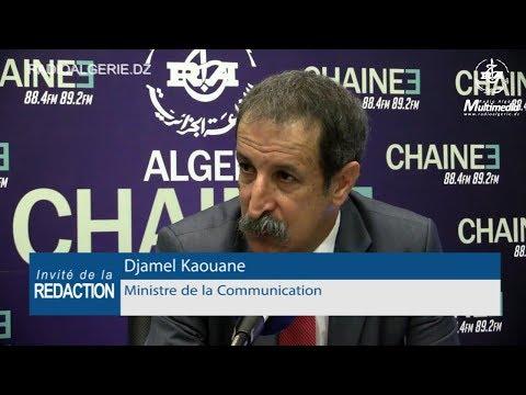 Djamel Kaouane Ministre de la Communication