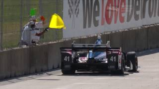 Dual in Detroit Race 2 Highlights