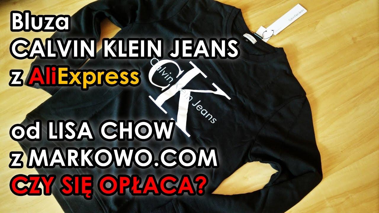 38edc0d5d350b Bluza Calvin Klein Jeans z AliExpress - markowo.com - ALILOVE.PL ...