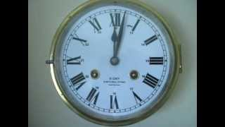 Ship's bell clock, 8 day