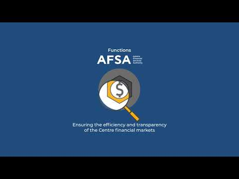 Functions of Astana Financial Services Authority (AFSA)