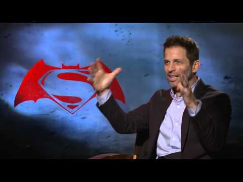 Batman V Superman Director Interview - Zack Snyder