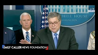 Barr Announces That The Justice Department Will Be Targeting Price Gougers