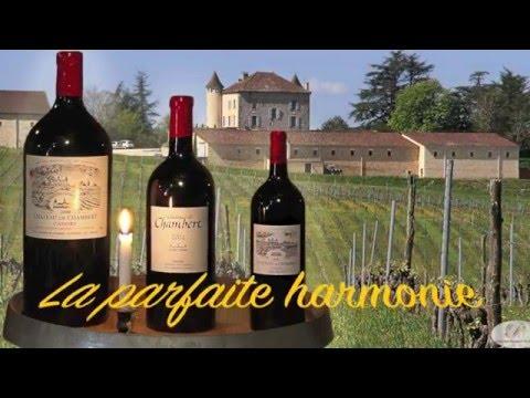 Les vins «Bio» de Château de Chambert et les dîners gourmands de Thierry Pszonka
