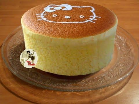 cheesecake-japonais-nuage---facile-et-moelleux---cotton-japanese-cheesecake-hello-kitty