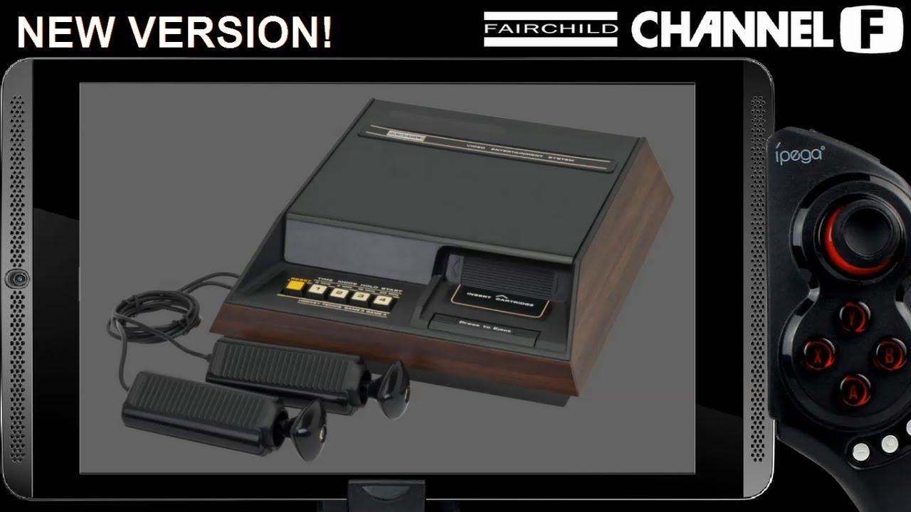 Fairchild Channel F - Gamesome Frontendretroarch On -7890
