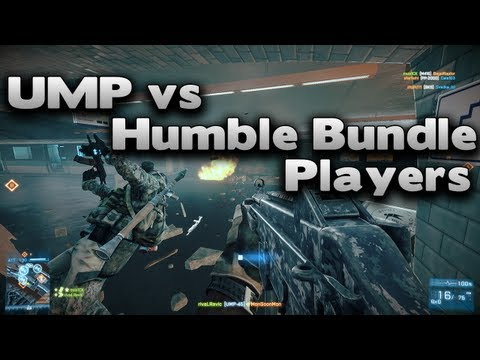 Battlefield 3 UMP Vs Humble Bundle Players