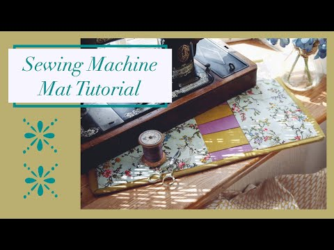 Panelled Patchwork Sewing Machine Mat | Sewing Tutorial from YouTube · Duration:  12 minutes 59 seconds