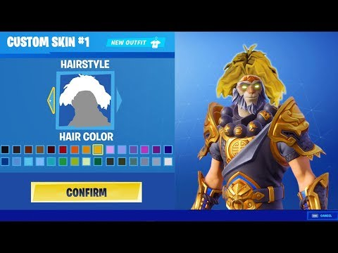 YOU CAN MAKE YOUR OWN CUSTOM FORTNITE SKIN!