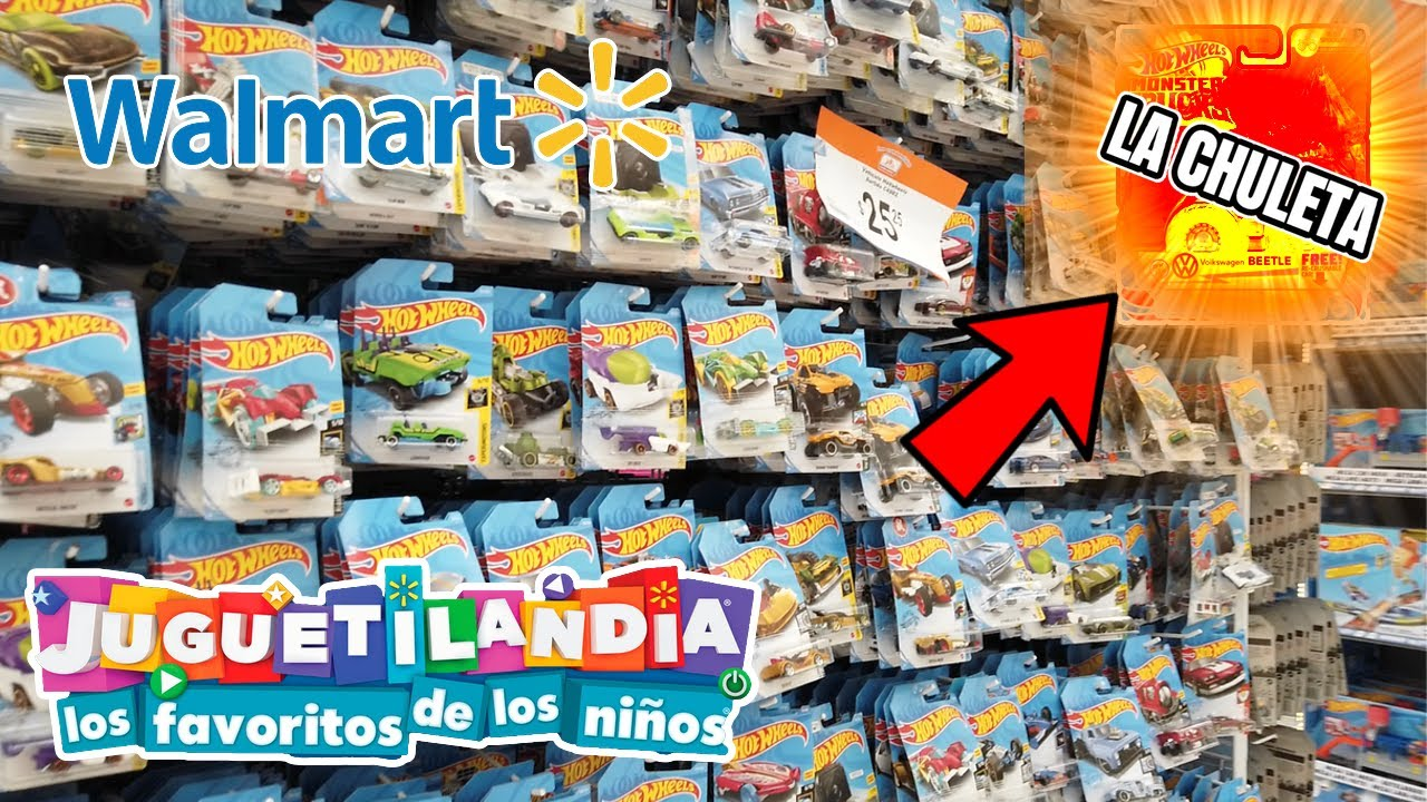 BUSCANDO LOS MEJORES HOT WHEELS EN WALMART CAPITULO 2 YA ABRIERON JUGUETILANDIA LA MEJOR JUGUETERIA