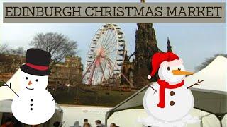 Edinburgh Christmas German Market Visit - Alan Andrew Taylor