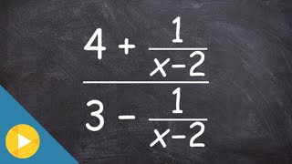Simplify a complex fraction and then identify the excluded values