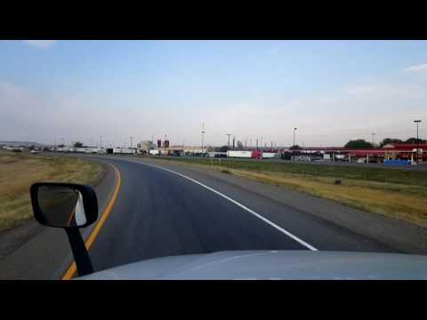 Bigrigtravels Live! Billings, Montana to Butte Interstate 90 August 28, 2016