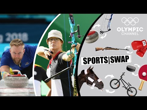 Archery vs Curling | Can They Switch Sports? | Sports Swap