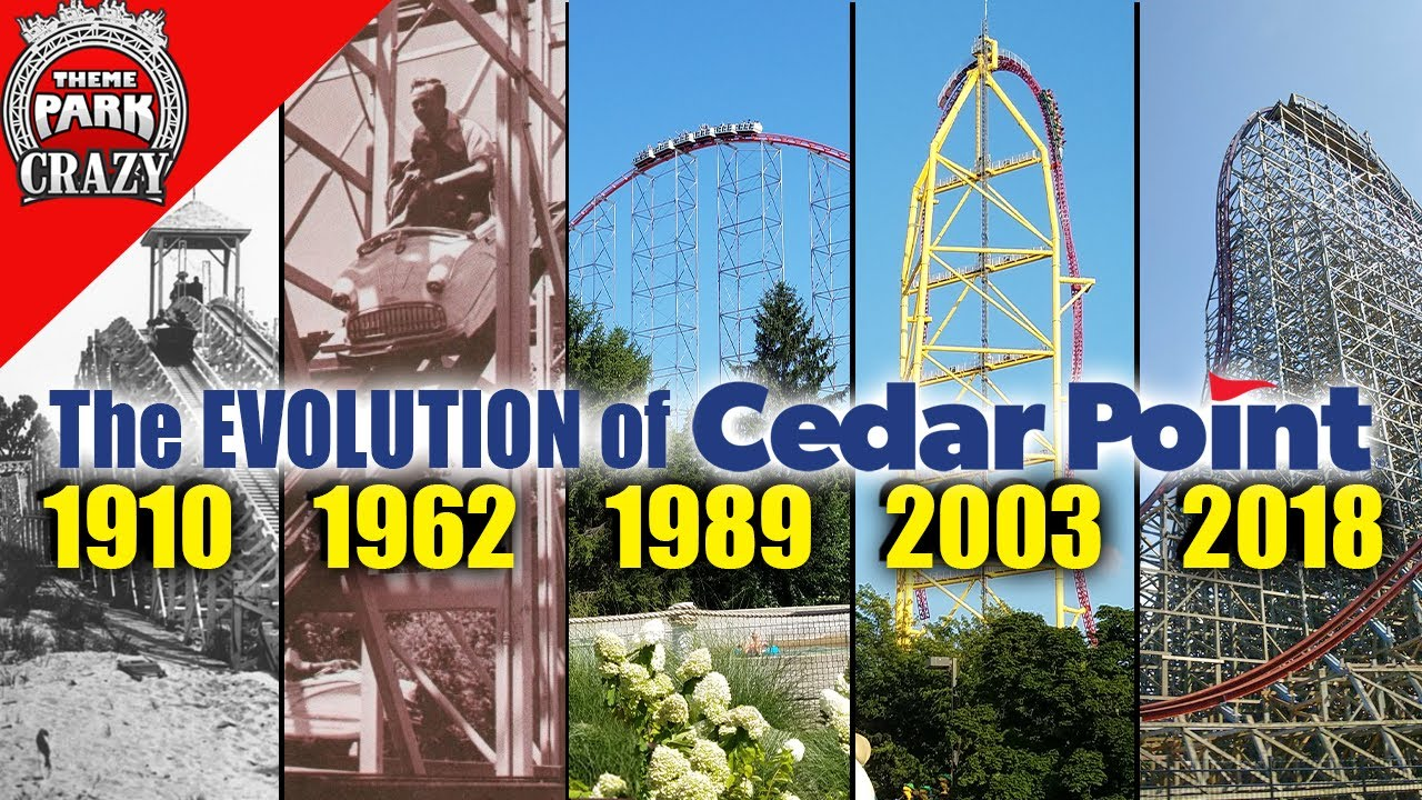Download The EVOLUTION of Cedar Point Roller Coasters