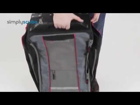 Seac Sub Mate 550 HD Roller Bag - www.simplyscuba.com