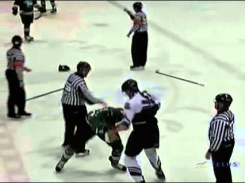 Samuel Morin vs Samuel Henley Oct 24, 2012