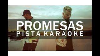 Promesas Pista Karaoke   Funky ft Indiomar  NsMusic