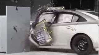 2013 Chevrolet Cruze Crash Test Шевроле Круз краш тест 2013