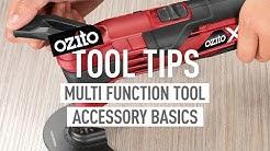 Multi Function Tool Accessory Basics - Tool Tips