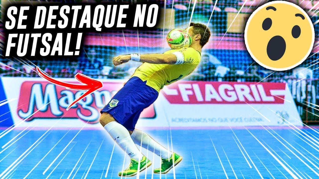 Como jogar Futsal e se DESTACAR  DICAS INFALÍVEIS - YouTube f20fd9f48e4f8