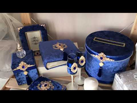 Свадебные аксессуары и наборы на свадьбу.  Декор для дома. Обзор новой коллекции 2020