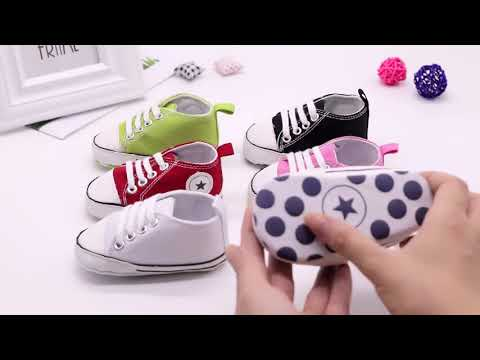 Classic Sports Sneakers First Walkers Soft Sole Anti slip Baby Shoes