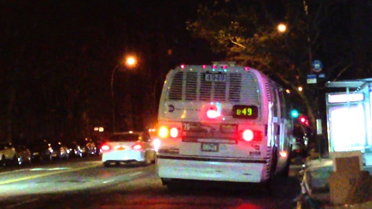 "MTA New York City Bus 1998 NovaBUS T80206 ""RTS-06"" 4949 on the B49"