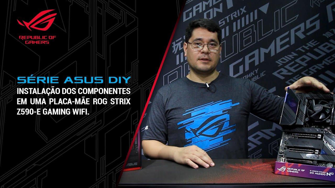 Como fazer a pré instalação de CPU, memória e armazenamento na sua placa-mãe ASUS? Ep. 2