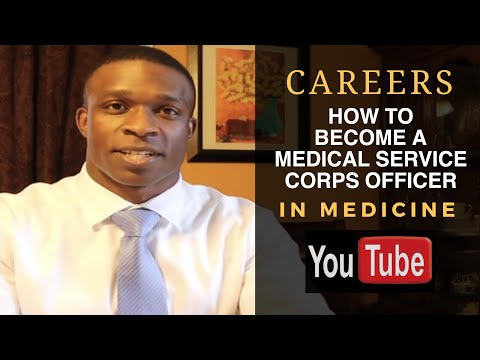 How To Become A Medical Service Corps Officer