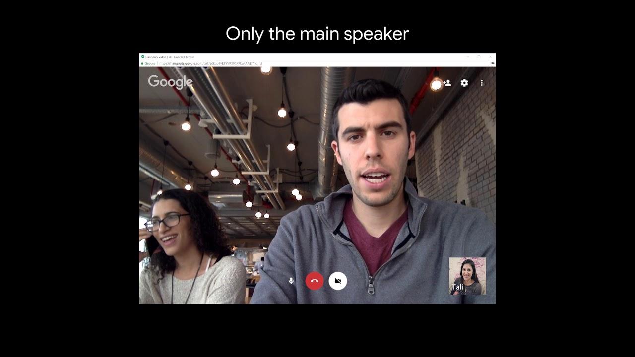 Google AI Blog: Looking to Listen: Audio-Visual Speech Separation