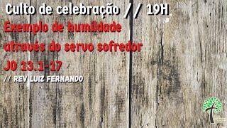Culto de Celebração// 16 de agosto de 2020 // Igreja Presbiteriana Floresta - GV
