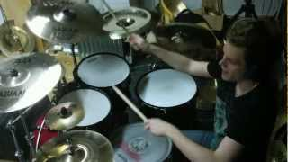 The Devin Townsend Project - Numbered DRUM COVER