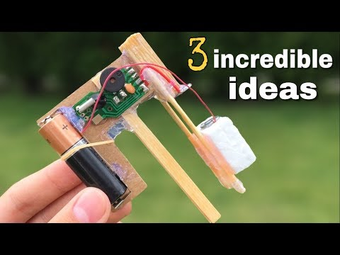 3 incredible ideas and Simple Homemade invention